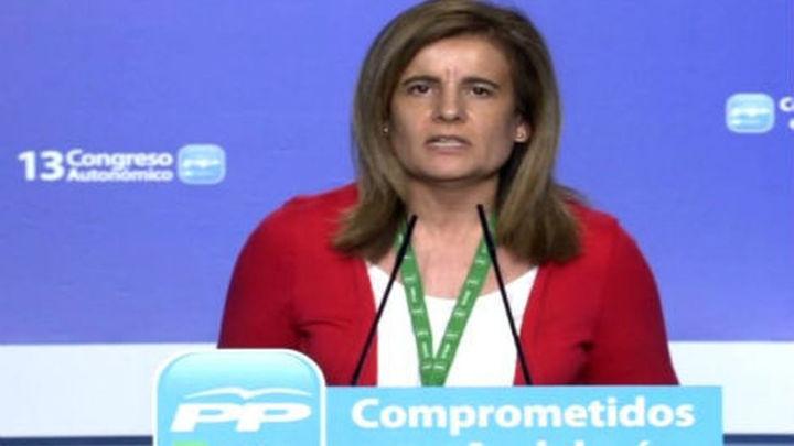 """Báñez dice que el Gobierno ha cogido el """"toro por los cuernos""""  frente a la crisis"""