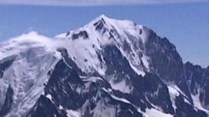 Un español desaparecido en el Mont Blanc