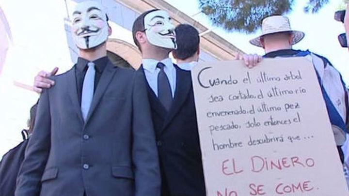Las 'marchas de parados' llegan a Madrid