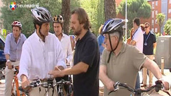 La Comunidad inaugura la ruta verde más larga de Madrid