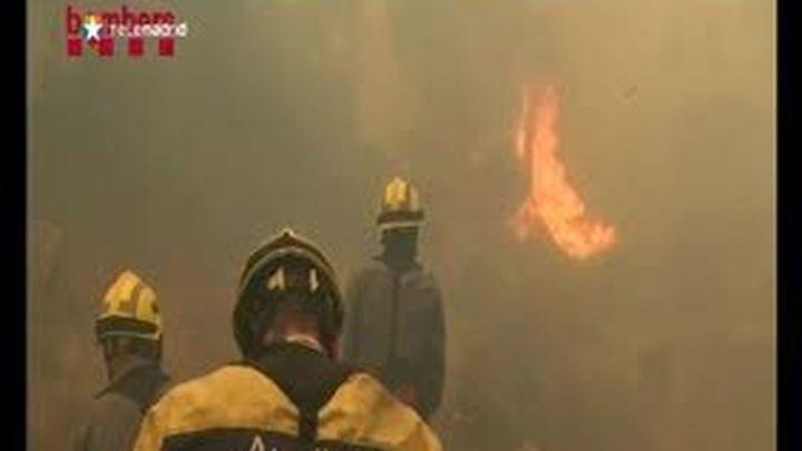 Los incendios del Empordà se cobran la cuarta víctima y siguen sin control