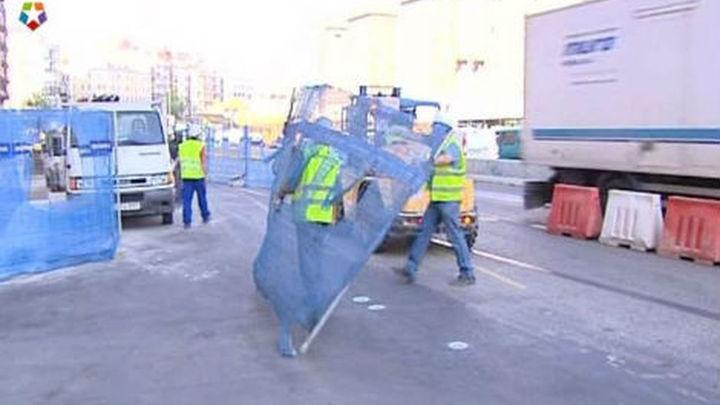 La salida por Avenida de América contará con dos carriles menos por obras desde hoy
