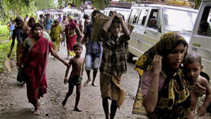 Asciende a 40 el número de muertos en los choques étnicos en India