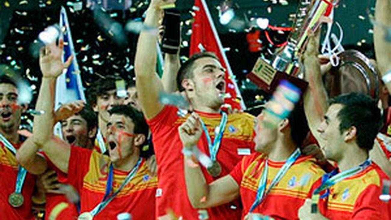 La Selección olímpica de balonmano masculina