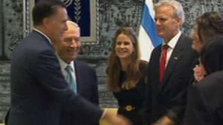 Romney busca el voto judío haciendo campaña en Israel