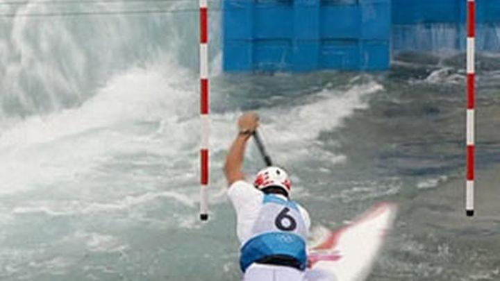 El piragüista Elosegui se queda a las puertas de la medalla en aguas bravas