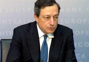 Draghi condiciona la compra de deuda a que los países acudan al fondo de rescate