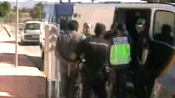 Desarticulada una red dedicada al tráfico ilegal de ciudadanos albaneses