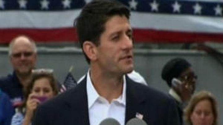 Romney y Ryan unen sus mensajes contra Obama en el primer día de campaña juntos