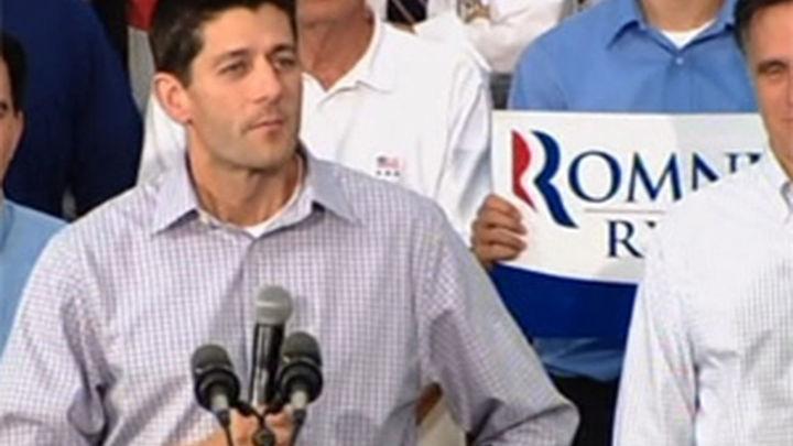 Ryan inyecta energía a la gira de Romney y demócratas lo tildan de radical