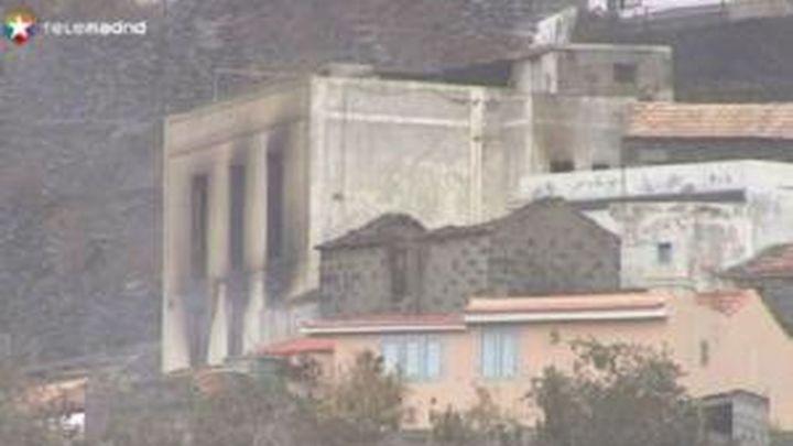 Mas de mil personas siguen evacuadas por el incendio de La Gomera