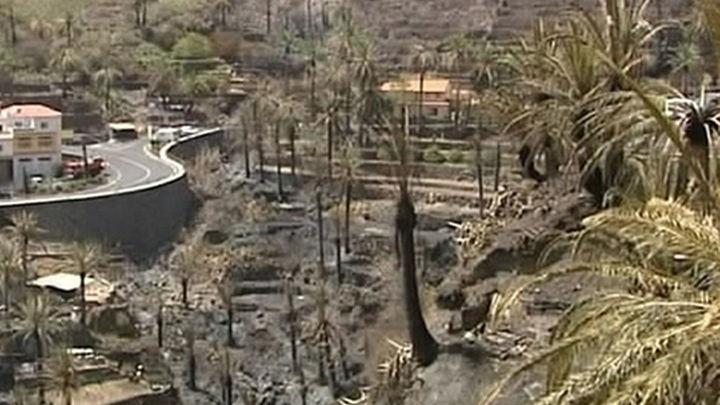 La Gomera, un año después del devastador incendio