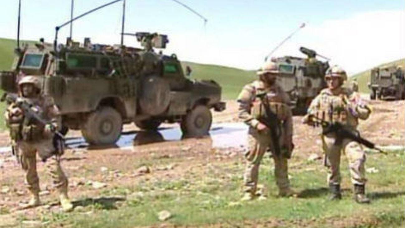 Estalla artefacto en Afganistán al paso de tropas españolas sin causar víctimas