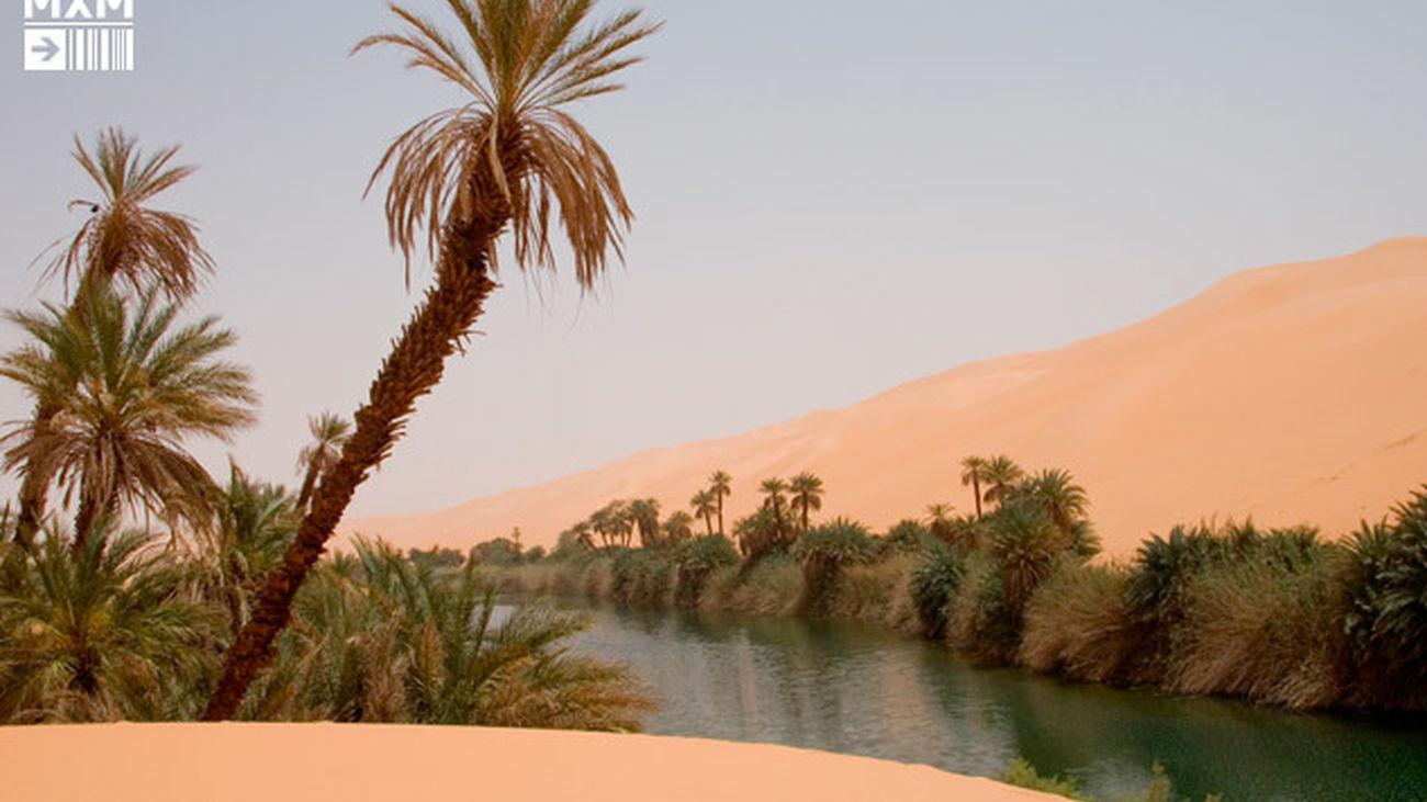 Libia, a caballo entre el Mediterráneo y el desierto