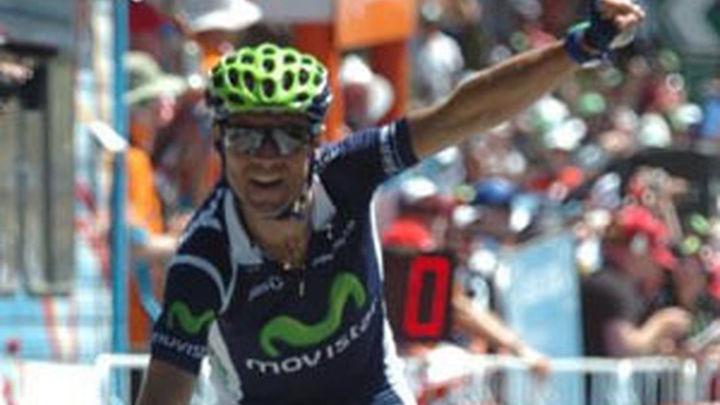 Valverde gana en Arrate y se viste de rojo