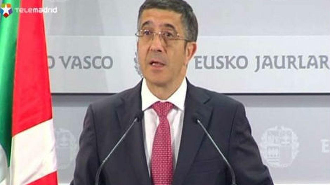 El lehendakari decide adelantae las elecciones vascas al 21 de octubre