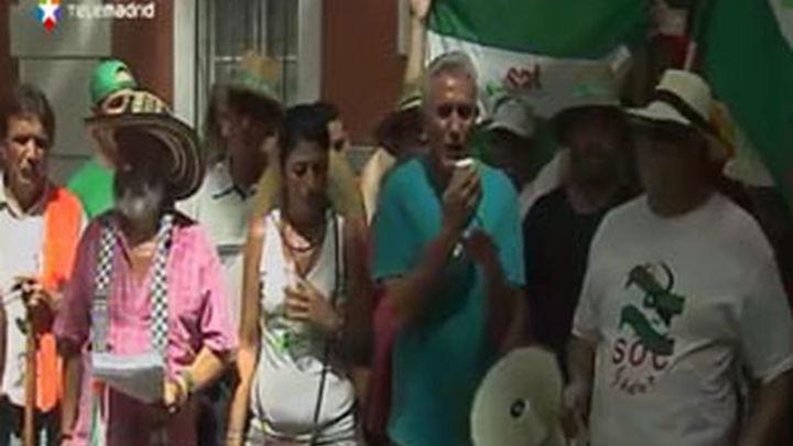 El sindicato de Gordillo ocupa el palacio de Moratalla