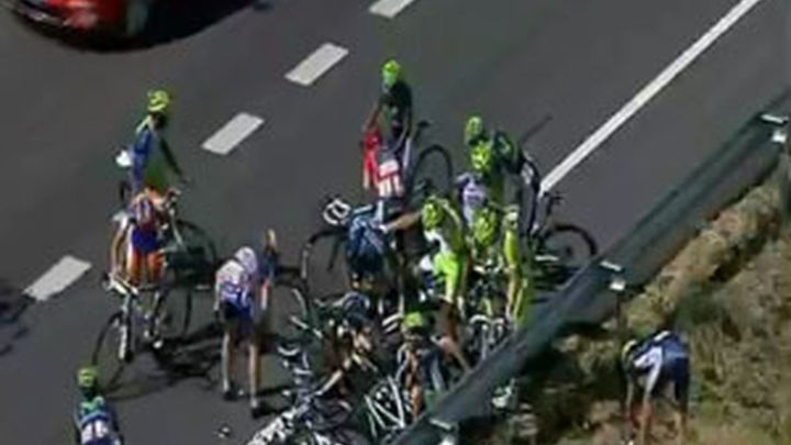 La Vuelta a España se pone al rojo vivo con el lio entre Valverde y el equipo Sky