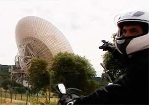 Madrid en moto: Hasta la NASA