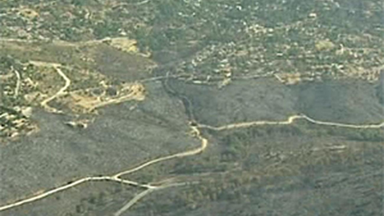 La imagen de la devastación