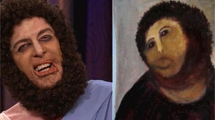 El Ecce Homo de Borja en el show de Conan O'Brien