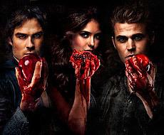 Logo crónicas vampíricas temporada 3