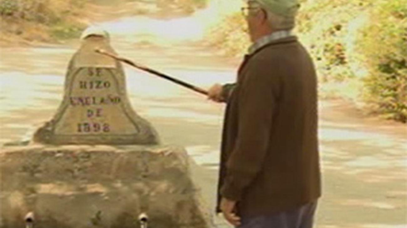Un vecino de Cuenca daña una fuente de 1898  que construyó su abuelo al intentar restaurarla