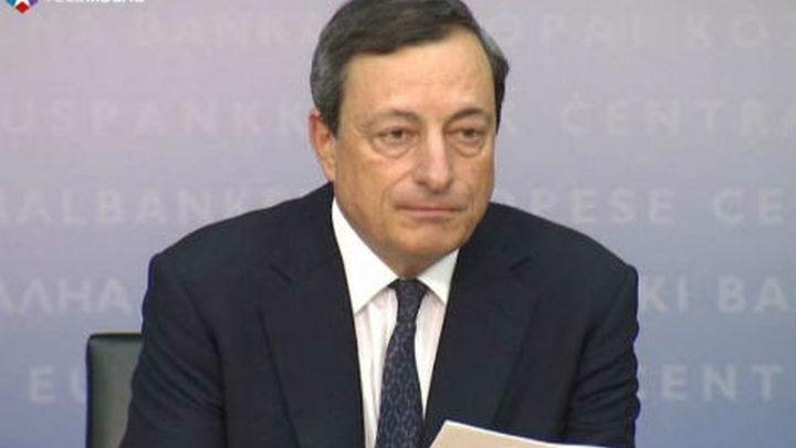 El BCE comprará deuda de España pero condicionada a la petición de rescate