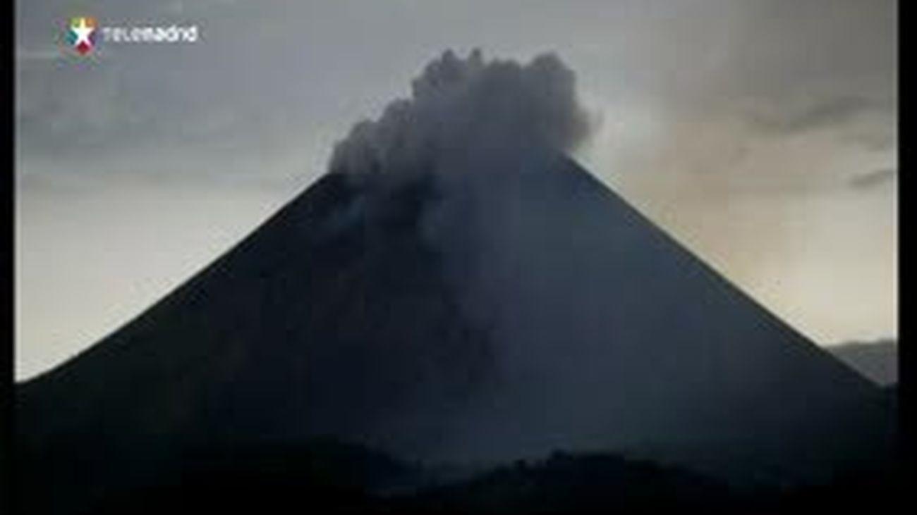 Declaradas alerta y la evacuación ante posible erupción de volcán en Nicaragua