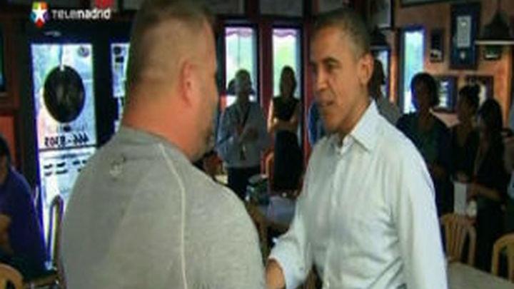 """Obama recurre a actores para movilizar a su electorado """"dormido"""""""