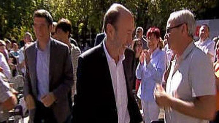 Rubalcaba dice que Rajoy ha perdido la mayoría social