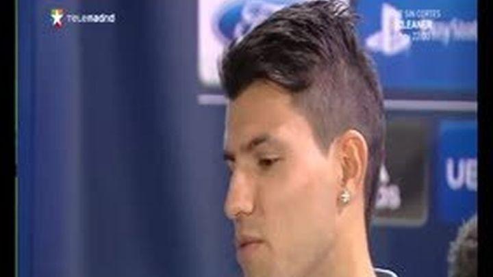"""Agüero: """"Si al Real Madrid le hubiese interesado, estaría aquí"""""""