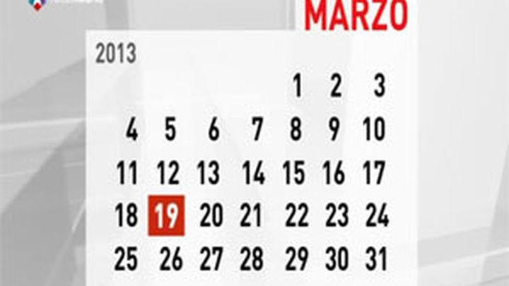 La festividad de San José de 2013 se celebrará en Madrid el lunes 18 de marzo