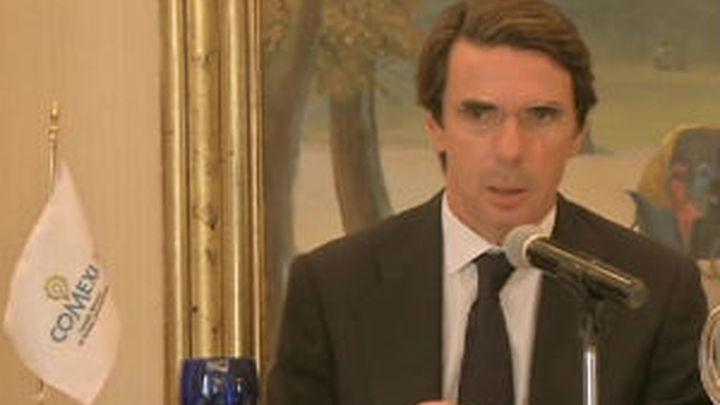 "Aznar: ""Nadie va  a romper España"""