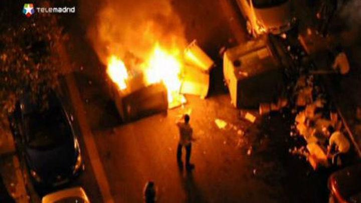 Pasan a disposición judicial los once detenidos en los disturbios del MTV