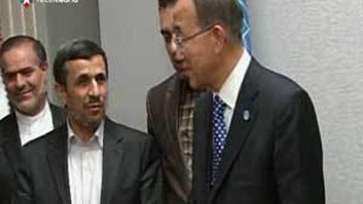 Ahmadineyad critica al Consejo de la ONU por sancionar a su país y no a Israel