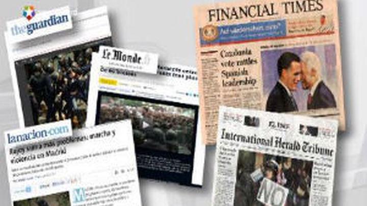 La prensa extranjera se ceba con la imagen de España