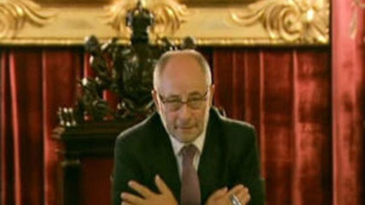 Rodríguez formaliza su dimisión como alcalde  de Orense