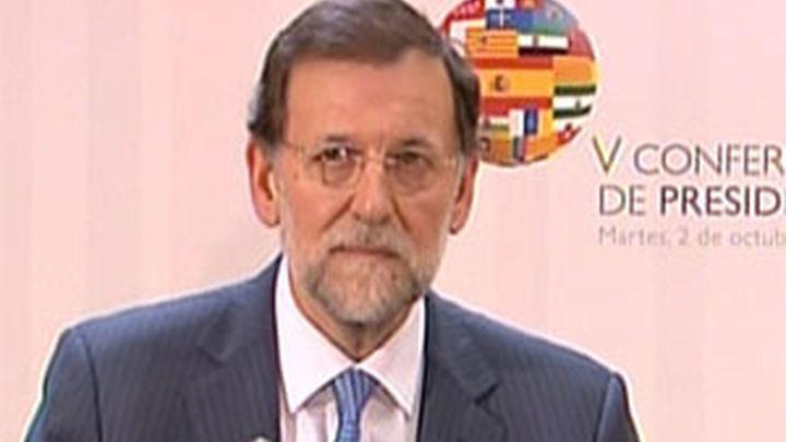 Rajoy niega que España vaya a pedir el rescate de forma inminente