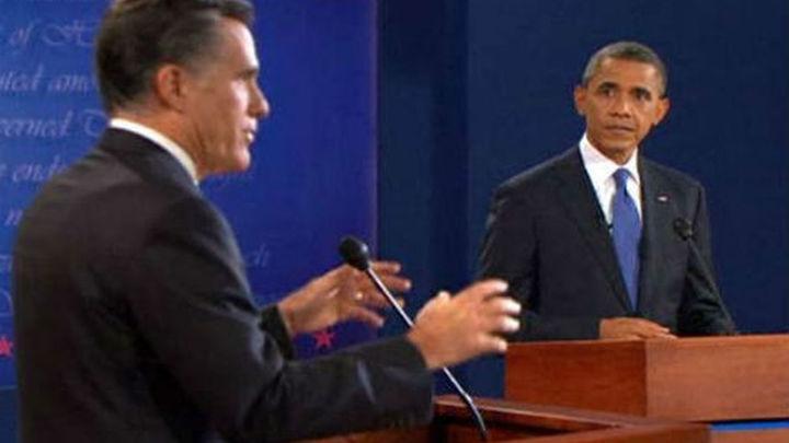 Romney vence a Obama en el primer debate televisado entre ambos
