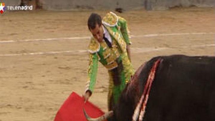 Fandiño corta su primera oreja en la Feria de Otoño de las Ventas
