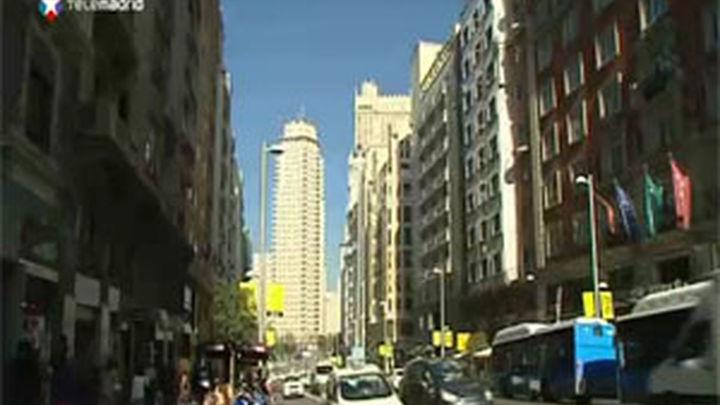 Gran Vía es la segunda calle comercial española con más tráfico peatonal