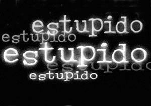 Estupido, estupido