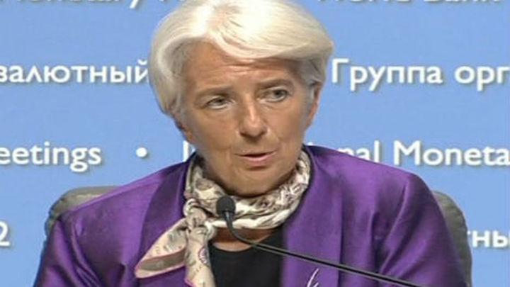 """Lagarde advierte de una nueva fase de """"mediocre"""" crecimiento mundial"""