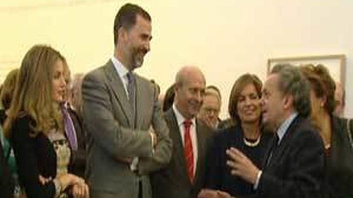 Los Príncipes de Asturias inauguran la Casa Lector en el antiguo Matadero