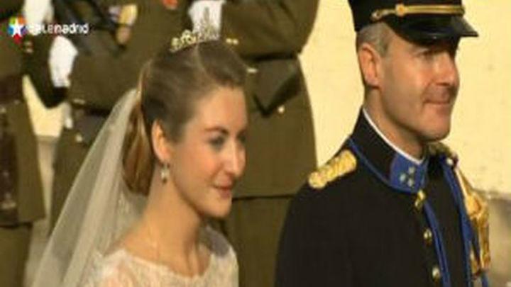 Los príncipes de Luxemburgo se dan el sí quiero en Catedral de Nuestra Señora