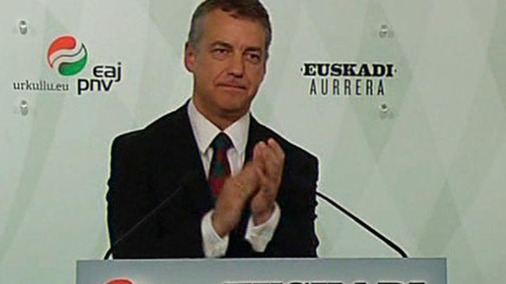 """Urkullu ofrece diálogo para un """"nuevo proyecto político compartido para Euskadi"""""""