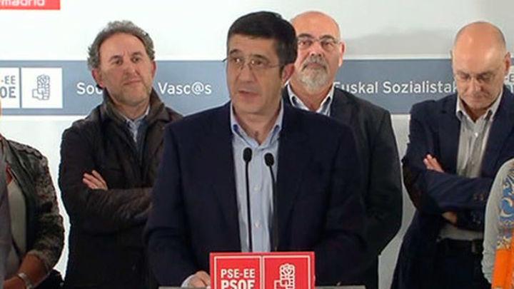 Patxi López: En estas elecciones no termina la aventura socialista en Euskadi