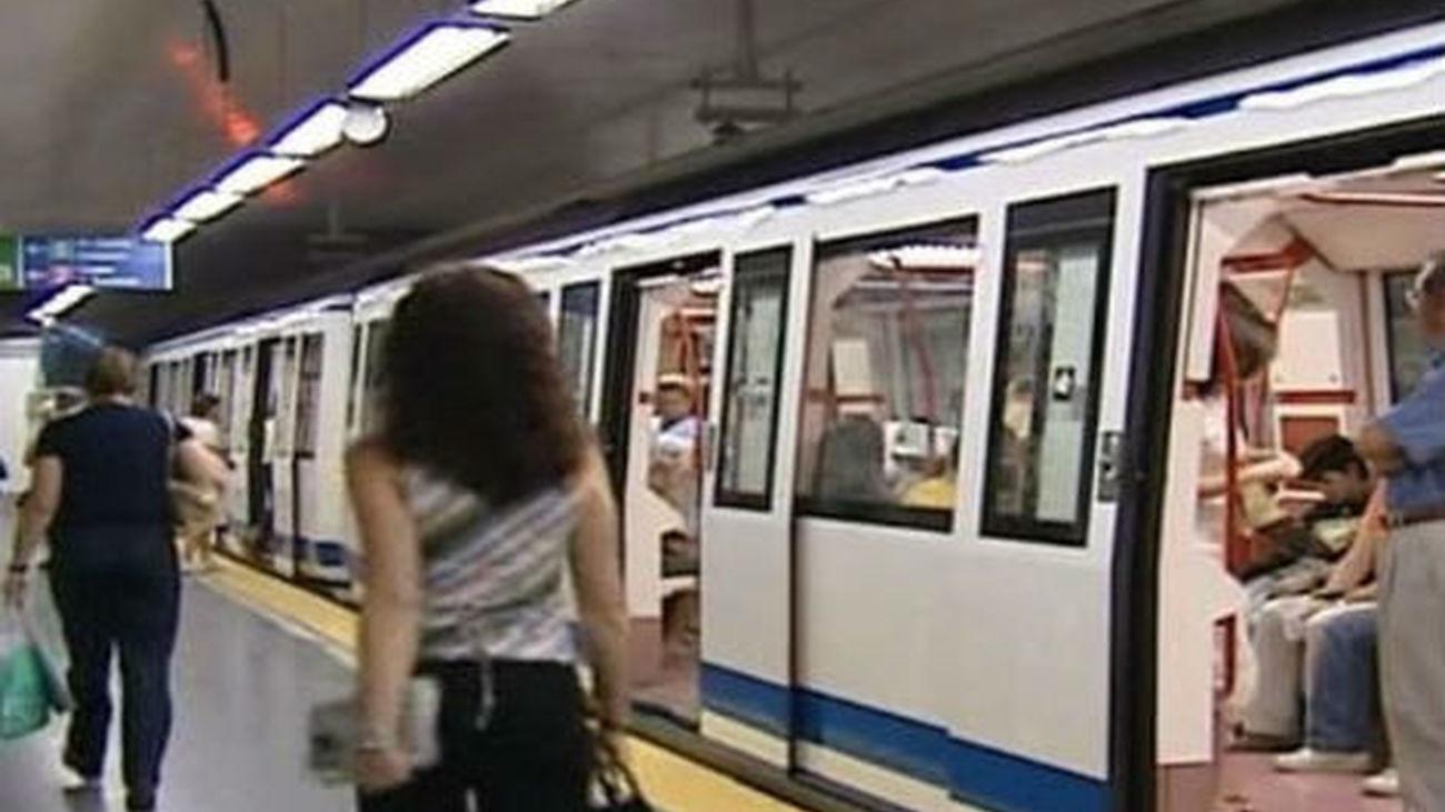 Madrid sufre hoy nuevos paros parciales convocados en Metro y EMT
