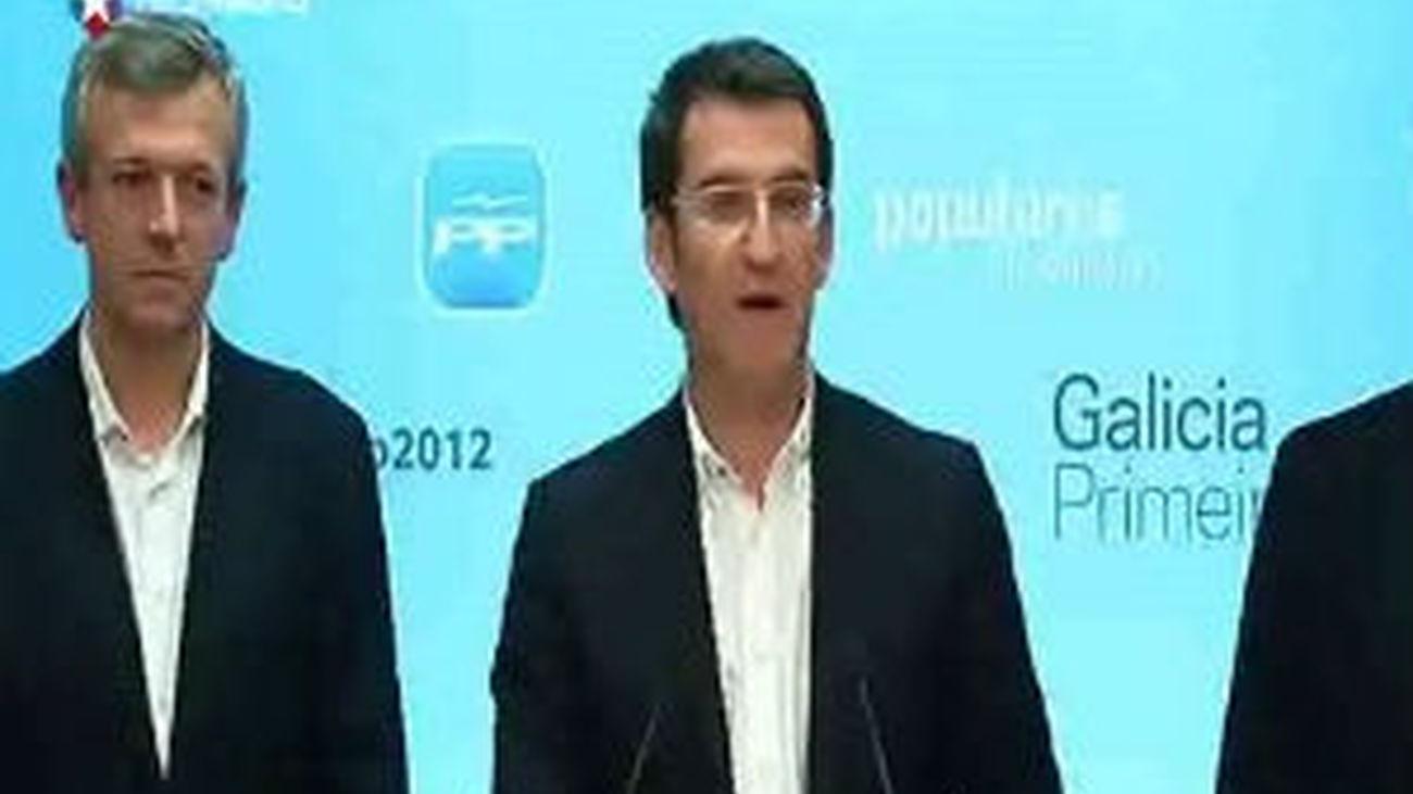 El PP de Feijóo amplía su mayoría absoluta en Galicia